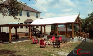 Patio with Permanent Cover